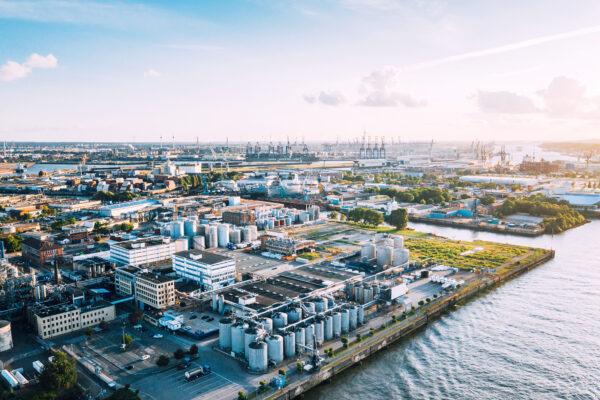Hamburg Germany port