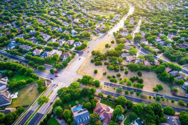 Austin Texas suburb