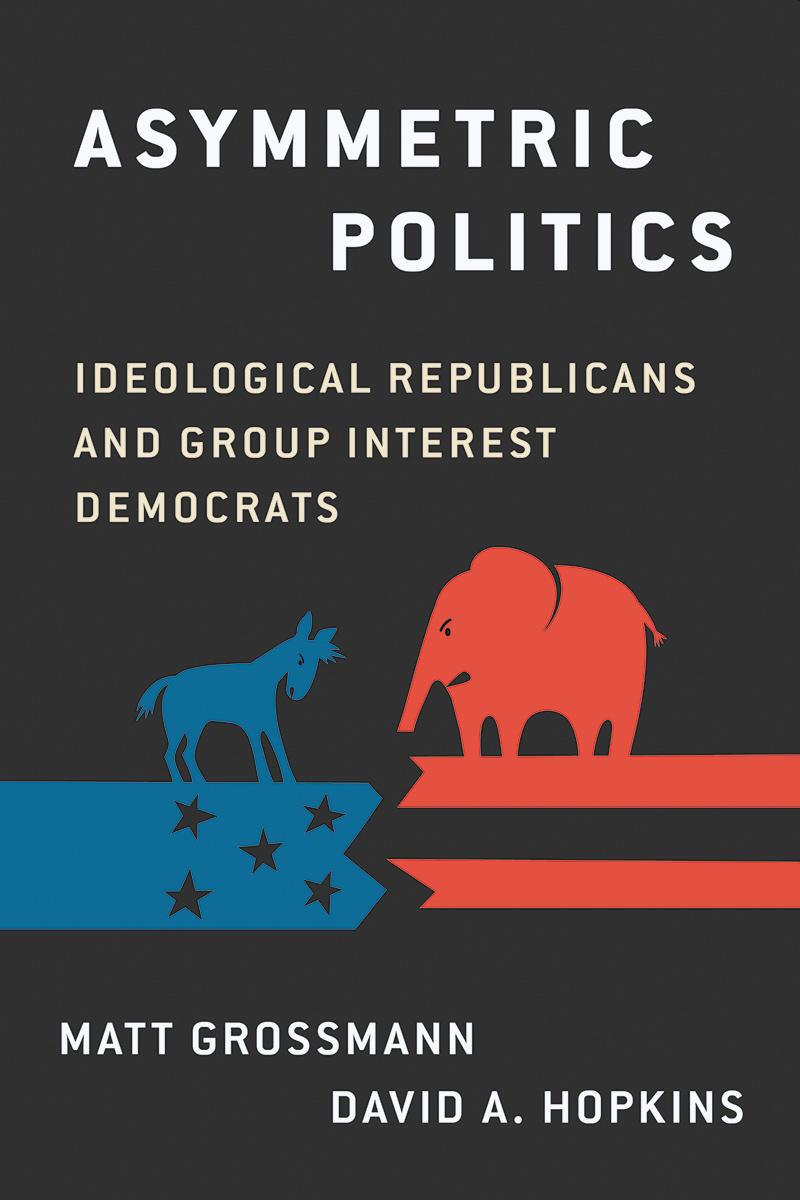 Asymmetric Politics cover
