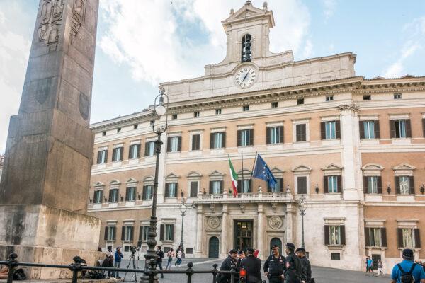 Italian parliament Rome