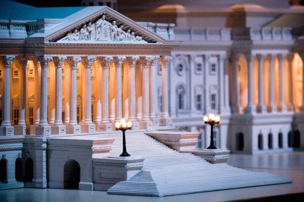 United States Capitol model