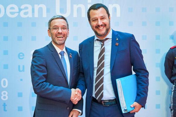Herbert Kickl Matteo Salvini