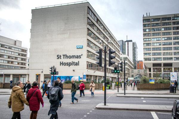 St Thomas Hospital London England