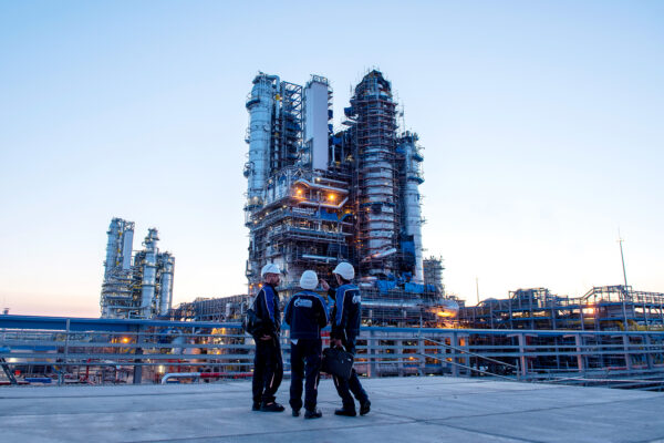 Amur gas plant Svobodny Russia